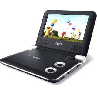 TFDVD7009 7 Inch Portable DVD CD MP3 Player New (716829907092)