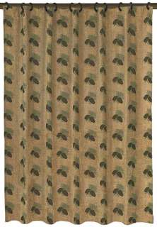 For Lodge or Cabin » Luxury Pine Cone Shower Curtain & Valance