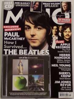MOJO Free CD Paul McCartney BEATLES Bob Marley LET IT B