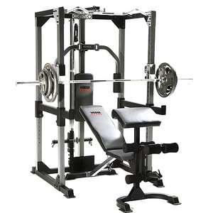 Weider Club C650 Bench Rack Sports