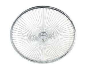 26 144 Spoke Front Wheel Chrome Bicycle Bike Cycling