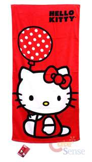 Sanrio Hello Kitty Bath Beach Towel 1
