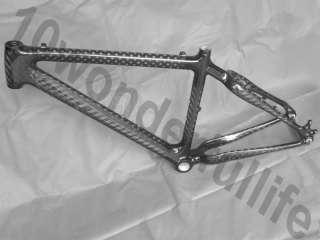 New Full Carbon 12K MTB Mountain Bike Bicycle Frame 17 ( gift