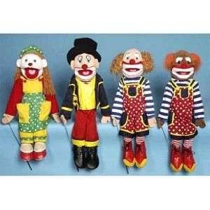 Female Clown Full Body Puppet Toys & Games
