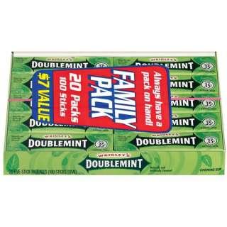 Ad Chiclet Mint Chewing Gum Candy Cadbury Adams ORIGINAL
