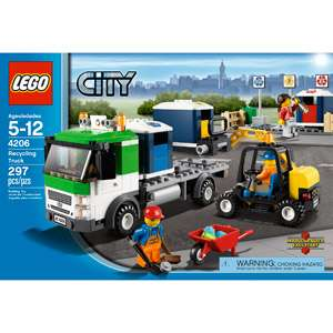 LEGO City Recycling Truck: Building Blocks & Sets