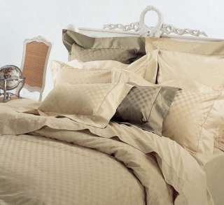 Full Queen Checkered Duvet Cover Set By Royal Hotel Collection