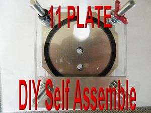 HHO 11 PLATE DRY CELL BUILD IT YOURSELF HYDROGEN GENERATOR. FUN