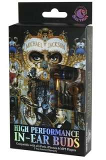 Michael Jackson Dangerous In Ear Earbuds Section 8 Earphones