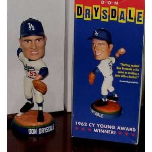 Don Drysdale DODGERS Bobble Bobblehead
