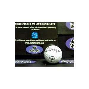 Gene Sarazen autographed Golf Ball (Signed just Sarazen