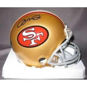 Joe Montana San Francisco 49ers NFL Autographed Mini