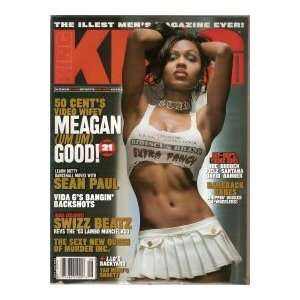 , July/August 2003 Issue (Meagan Good Cover): King Magazine: Books