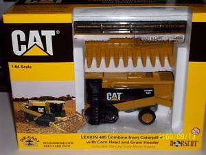 cat caterpillar lexion 485 1/64 farm toy combine tracks
