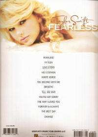 TAYLOR SWIFT FEARLESS PIANO VOCALs GUITAR Sheet Music