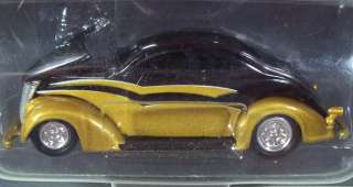 RC Hot Rod 37 Ford coupe black/gold #118