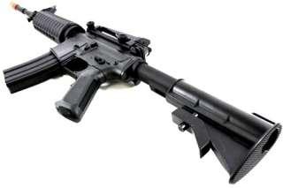 SRC CompSpec 370 FPS Airsoft M4A1 Carbine Full Metal Gearbox AEG Rifle