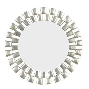 Kenroy Home Gilbert Wall Mirror in Silver Decor