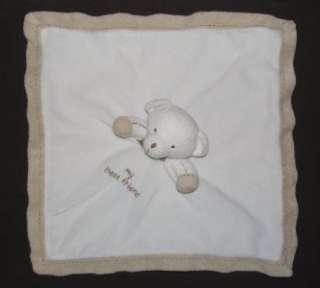 CARTERS Cream Tan TEDDY BEAR Lovey MY BEST FRIEND Security Blanket