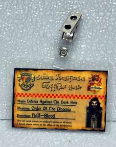 Harry Potter Student Id Badge  Gryffindor
