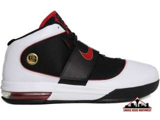 Soldier IV Lebron James White/Black/Red Mens Basketball Shoes