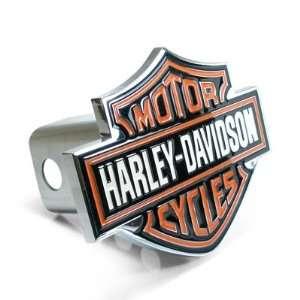 Harley Davidson Bar & Shield Emblem Chrome Hitch Cover