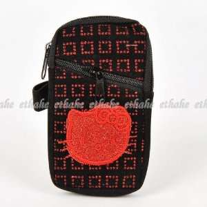 Hello Kitty Mobile Cell Phone Pouch Holder Bag Cell Phones