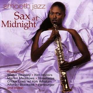 Smooth Jazz Sax At Midnight, Various Artists   Contemporary Jazz