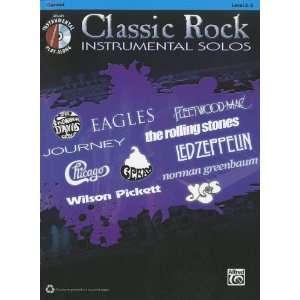 Classic Rock Instrumental Solos Clarinet (Book & CD