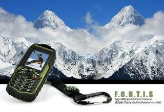 IP67 grade outdoors cell phone dual SIM waterproof, dustproof