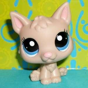 Littlest Pet Shop~#2188 CREAM LATTE GERMAN SHEPHERD PUPPY DOG Htf~A129