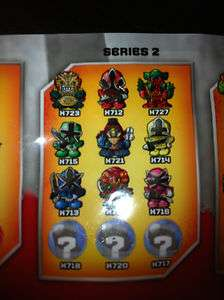SQUINKIES POWER RANGERS SAMURAI SERIES 2 GREAT LOT TO CHOOSE FROM