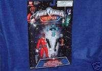 Power Rangers SPD Red Ranger Evil Space Alien Set New