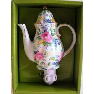 Night Light Teapot Flower Theme
