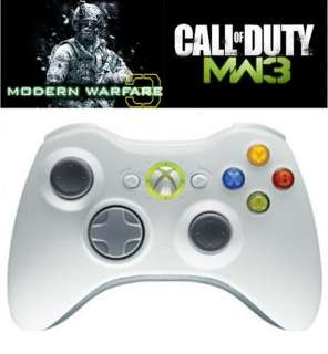 New Milk White xBox 360 Dual Rapid Fire Mod Controller 10 Mode Best