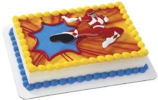 Power Rangers Red Ranger Puzzle CAKE DECORATING KIT TOP