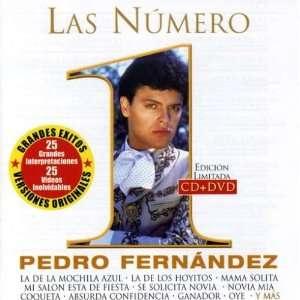 Las Numero 1 Pedro Fernandez Music