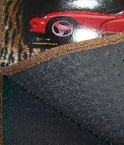 Heel Pad added on drivers side floor mat for added protection. padding