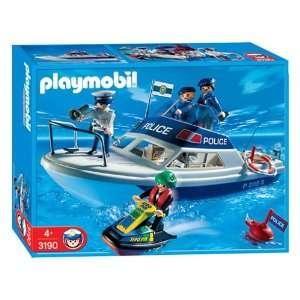 Playmobil Police Rescue Boat