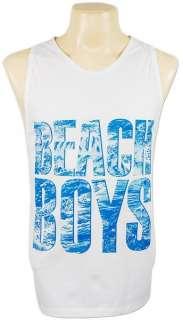 The Beach Boys 70s Surf Rock Tank Top Singlet L