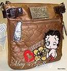 Betty Boop Handbag Cross Body Purse Tote Hand Bag Wall