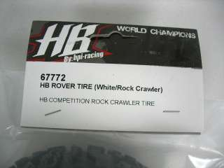 Hot Bodies Rock Crawler Rover Tire Soft HBS67772
