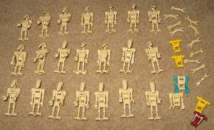 Lot of 21 Lego Star Wars Battle Droid Minifigs & Parts