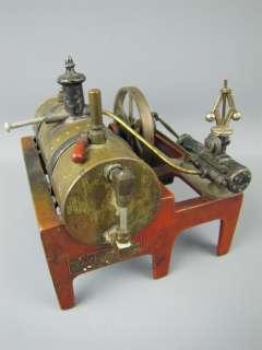 Antique 1930s Weeden Cast Iron/Brass Steam Engine #14