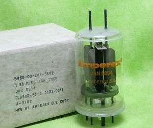Single Amperex 5894 Tube NOS/NIB TV 7 Tested