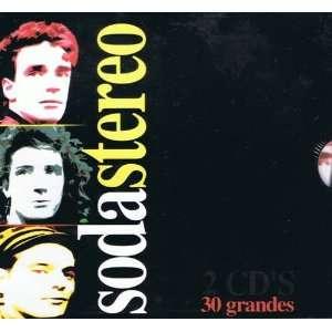 30 Grandes Exitos Soda Stereo Soda Stereo 2 Cds Music
