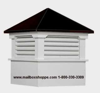 30 36 or 42 Hamlin Azek Vinyl Cupola Aluminum Roof