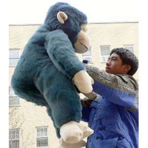 HUGE MONKEY CHIMP CHIMPANZEE GORILLA APE JUMBO BIG STUFFED ANIMAL