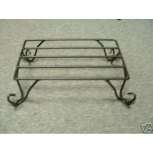 Wrought Iron Table Top Stand Amish Made