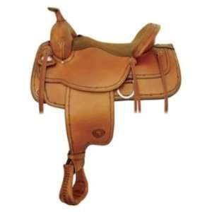 com Tex Tan Montrose Flex Western Trail Saddle 16In Wi Pet Supplies